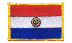 Paraguay Patch, Badge - 3.15 x 2.35 inch
