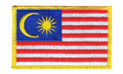 Malaysia Patch, Badge - 3.15 x 2.35 inch