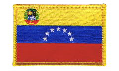 Venezuela 7 stars with coat of arms 1930-2006 Patch, Badge - 3.15 x 2.35 inch