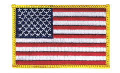 USA Patch, Badge - 3.15 x 2.35 inch