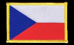 Czech Republic Patch, Badge - 3.15 x 2.35 inch
