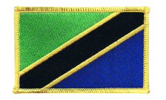 Tanzania Patch, Badge - 3.15 x 2.35 inch