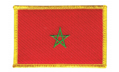 Morocco Patch, Badge - 3.15 x 2.35 inch