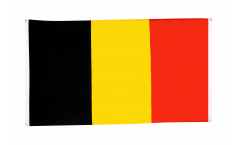 Belgium Flag for balcony - 3 x 5 ft.