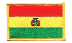Bolivia Patch, Badge - 3.15 x 2.35 inch