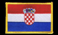 Croatia Patch, Badge - 3.15 x 2.35 inch