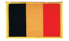 Belgium Patch, Badge - 3.15 x 2.35 inch