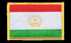 Tajikistan Patch, Badge - 3.15 x 2.35 inch