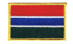 Gambia Patch, Badge - 3.15 x 2.35 inch