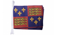 United Kingdom Royal Banner 1485-1547 Henry II and Henry IV Bunting Flags - 5.9 x 8.65 inch