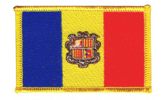 Andorra Patch, Badge - 3.15 x 2.35 inch