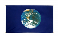 Earth Flag for balcony - 3 x 5 ft.
