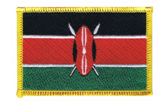 Kenya Patch, Badge - 3.15 x 2.35 inch