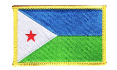 Djibouti Patch, Badge - 3.15 x 2.35 inch