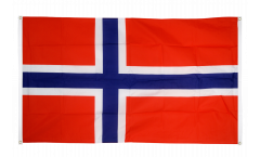 Norway Flag for balcony - 3 x 5 ft.