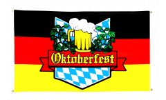 Oktoberfest Germany Flag for balcony - 3 x 5 ft.