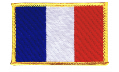 France Patch, Badge - 3.15 x 2.35 inch