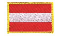 Austria Patch, Badge - 3.15 x 2.35 inch