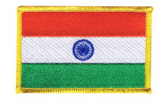 India Patch, Badge - 3.15 x 2.35 inch
