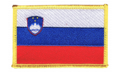 Slovenia Patch, Badge - 3.15 x 2.35 inch