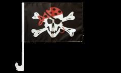 Pirate One eyed Jack Car Flag - 12 x 16 inch