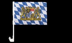 Germany Bavaria Freistaat Bayern Car Flag - 12 x 16 inch