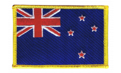 New Zealand Patch, Badge - 3.15 x 2.35 inch