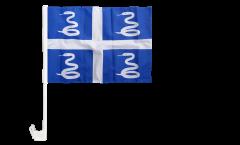 France Martinique Car Flag - 12 x 16 inch