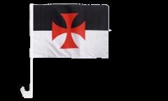 Temple Knight Car Flag - 12 x 16 inch