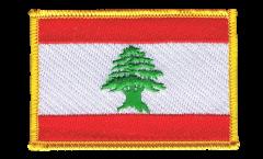Lebanon Patch, Badge - 3.15 x 2.35 inch