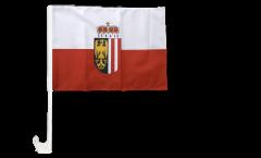 Austria Upper Austria Car Flag - 12 x 16 inch