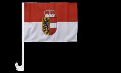 Austria Salzburg Car Flag - 12 x 16 inch
