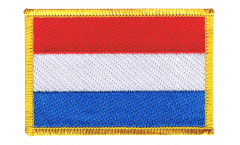Luxembourg Patch, Badge - 3.15 x 2.35 inch