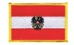 Austria with eagle Patch, Badge - 3.15 x 2.35 inch