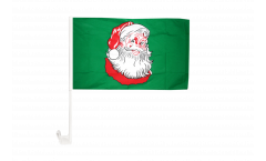 Santa Claus Car Flag - 12 x 16 inch