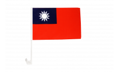 Taiwan Car Flag - 12 x 16 inch