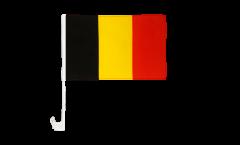 Belgium Car Flag - 12 x 16 inch