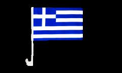 Greece Car Flag - 12 x 16 inch