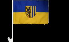 Germany Leipzig Car Flag - 12 x 16 inch