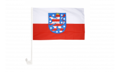 Germany Thuringia Car Flag - 12 x 16 inch