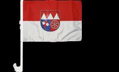 Germany Lower Franconia Car Flag - 12 x 16 inch
