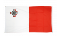 Malta Flag for balcony - 3 x 5 ft.