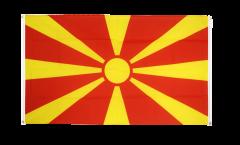 Macedonia Flag for balcony - 3 x 5 ft.