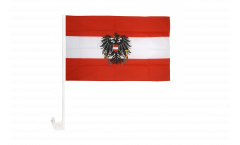 Austria with eagle Car Flag - 12 x 16 inch