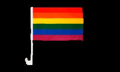Rainbow Car Flag - 12 x 16 inch
