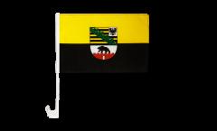 Germany Saxony-Anhalt Car Flag - 12 x 16 inch