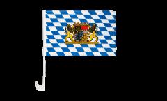 Germany Bavaria  lion Car Flag - 12 x 16 inch