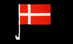Denmark Car Flag - 12 x 16 inch