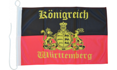 Germany Kingdom of Württemberg Boat Flag - 12 x 16 inch