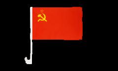 USSR Soviet Union Car Flag - 12 x 16 inch